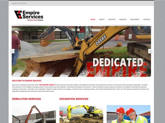 Empire Services Website